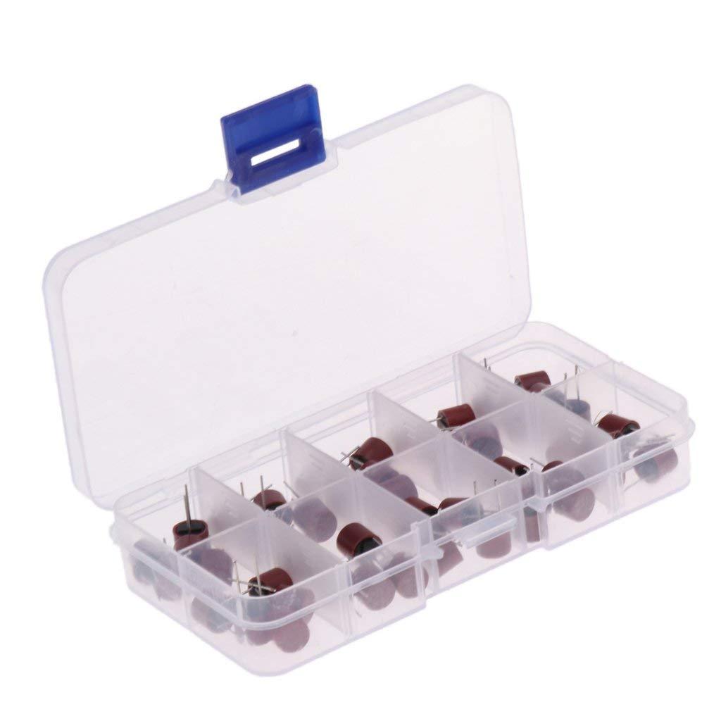 Baoblaze 50x MICRO FUSE TR5 Series 500mA, 1A, 1.25A, 1.6A, 2A, 2.5A, 3.15A/4A/5A/6.3A
