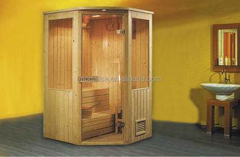 Madera Sala De Saunasala De Vapor Portatil Sauna De Vapor Combinado - Sauna-madera