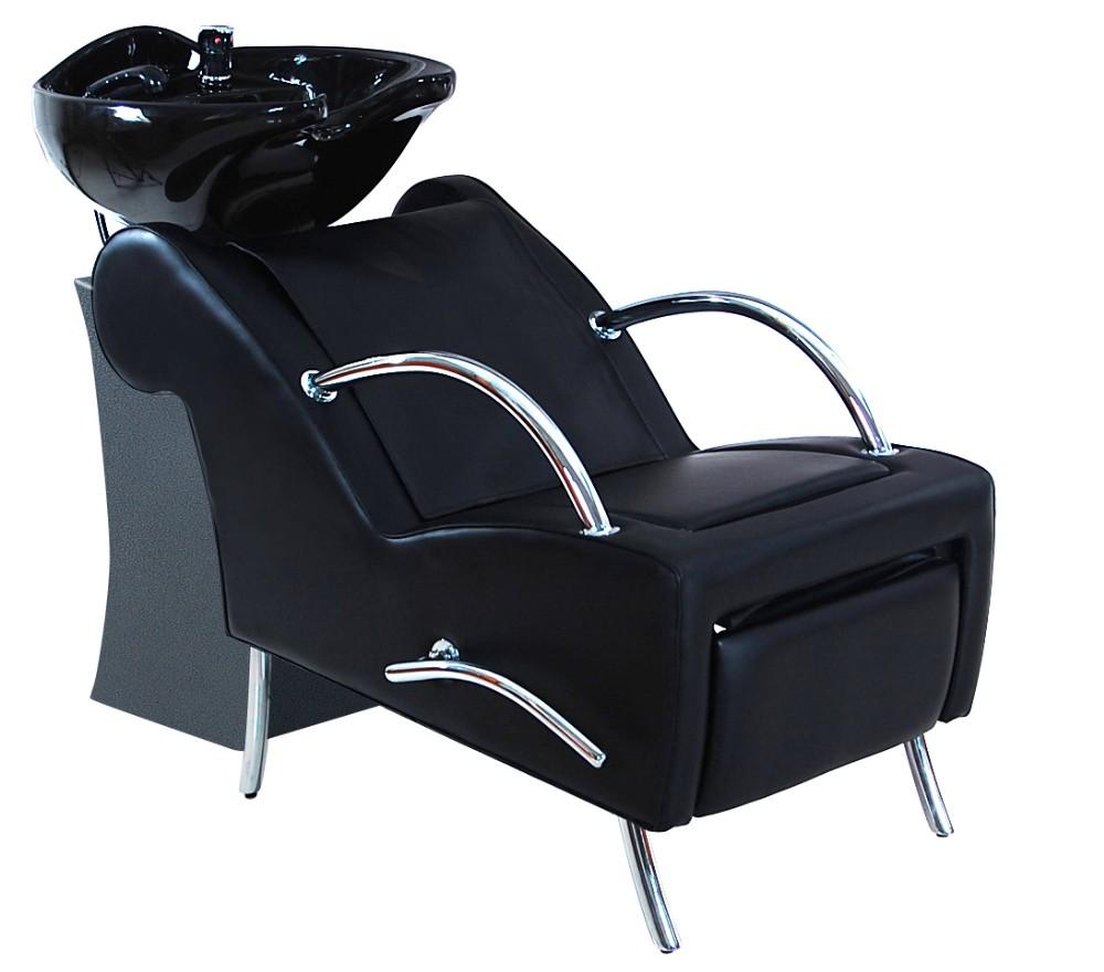 Hair salon recliner chairs with wash basin salon shampoo for Salon shampoo chairs