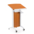Standard podium size steel podium cheap church podium