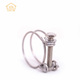 metal wire hose clamp supply double wire water gas hose clamp pipe clip wire hose clamp