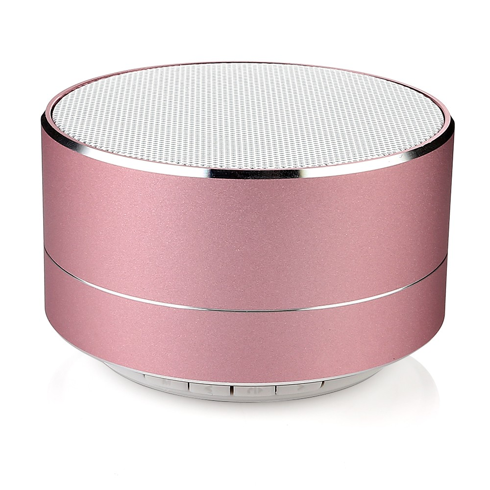 new arrivals 2018 metal mini portable wireless sound bluetooth <strong>speaker</strong> with Mic TF card FM radio AUX MP3 music play loudspeaker