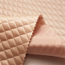 Shaoxing fabrik Hohe Qualität neue <span class=keywords><strong>polyester</strong></span> jacquard Stepp rosa <span class=keywords><strong>stoff</strong></span> für bekleidung