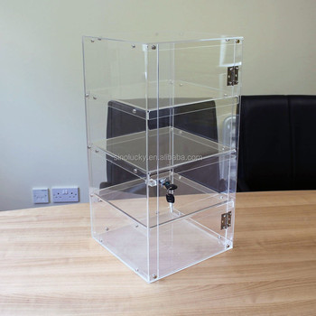 Car Show Display Stand / Acrylic Display Lockable Cabinet Box Case ...
