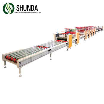 Sandwich MgO panel foam board maken machine vel machine