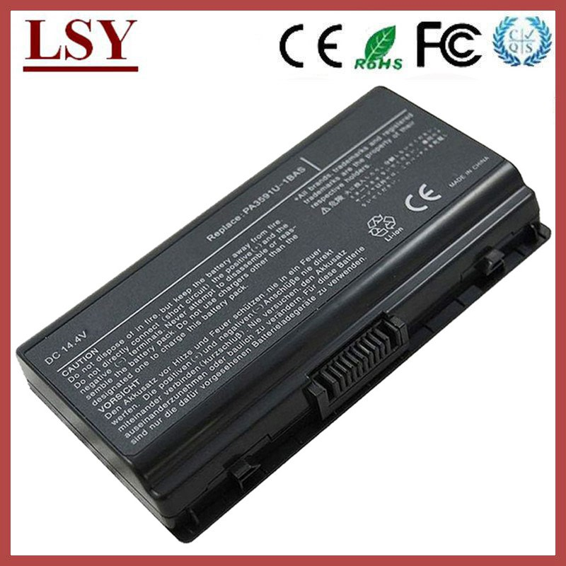 generic laptop battery for Toshiba PA3591U-1BRS battery PA3591U-1BAS notebook battery Equium Satellite Pro L40 L45