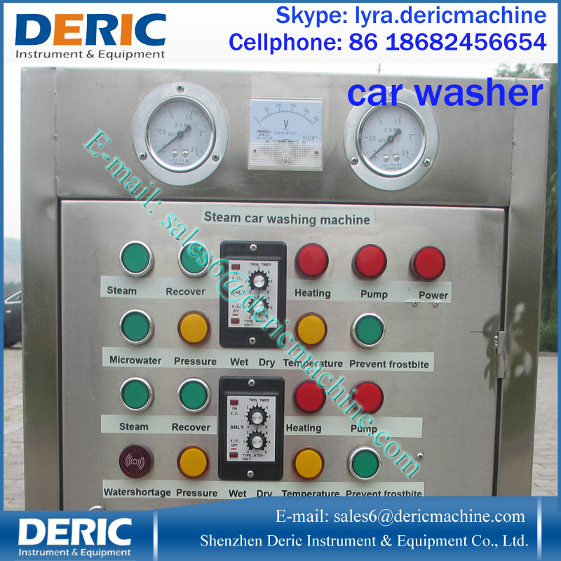 Semi-automatic Optima Steam Car Wash With 2 Gunsl