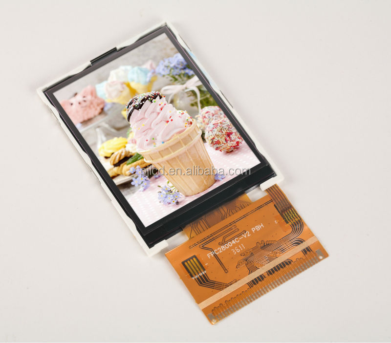 "customized durable elevator lcd 2.8"" (PJ28004C e-ink lcd screen)"