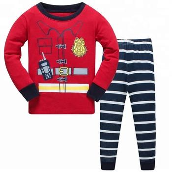 4fba3f055 Kids   Toddler 100% Cotton Pajamas Set PJS Long Sleeve Boys Striped ...