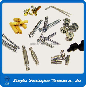hardware fastener fitting metric connecting furniture lock bolt furniture screw