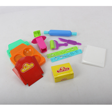 The Newest Colorful Clay Dough Burger Moulds Play Clay Set Toys