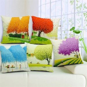 Latest design quality competitive price home useful plain natural linen cushion cover