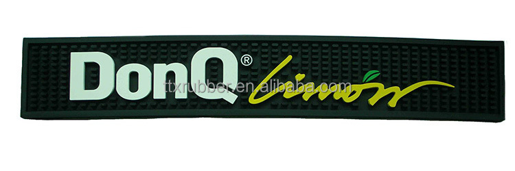 Pvc bar drip rail mat/promotion beer mat/promotion bar mat