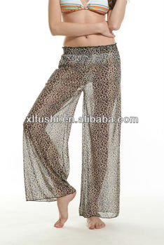 Hot Stock Coast Animal Print Sheer Mesh Pants Beach Cover Ups - Buy Beach  Cover Ups,Swimwear Cover Ups,Bikinis Cover Ups Product on Alibaba com