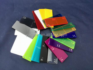 Customized acrylic laminate