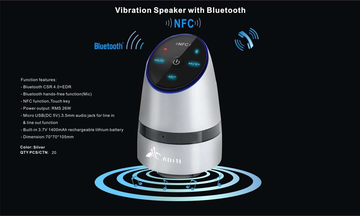 Hot Portable Bluetooth Speaker Bass bluetooth resonance Speaker 3D Surround Subwoofer Stereo Sound Outdoor Phones