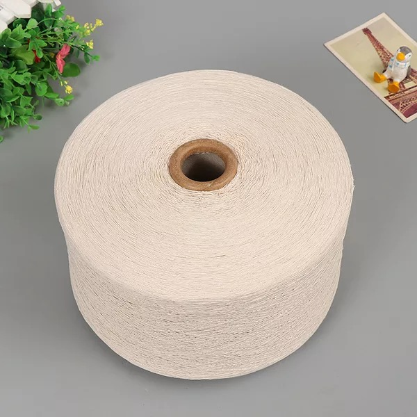 100% COTTON YARN 32/1 raw white stock availble