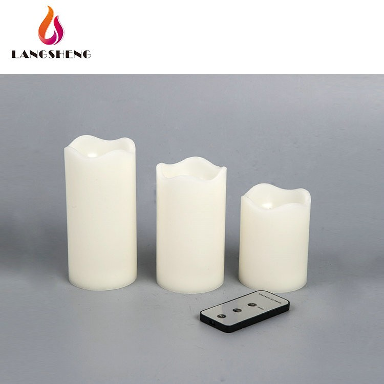 factory price vanilla home reflections flameless candle