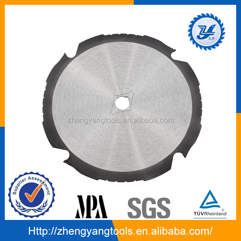 PCD circular saw blade for cutting