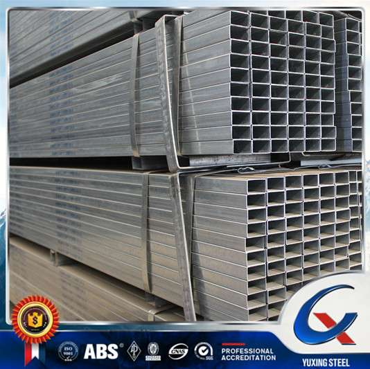 Galvanized Tube / Galvanized Square Pipe / Rectangular Pipe 20x30 to 200x180mm, 30x80