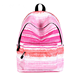 Beautiful School Bag Custom Sublimation fancy cute backpack for college girl