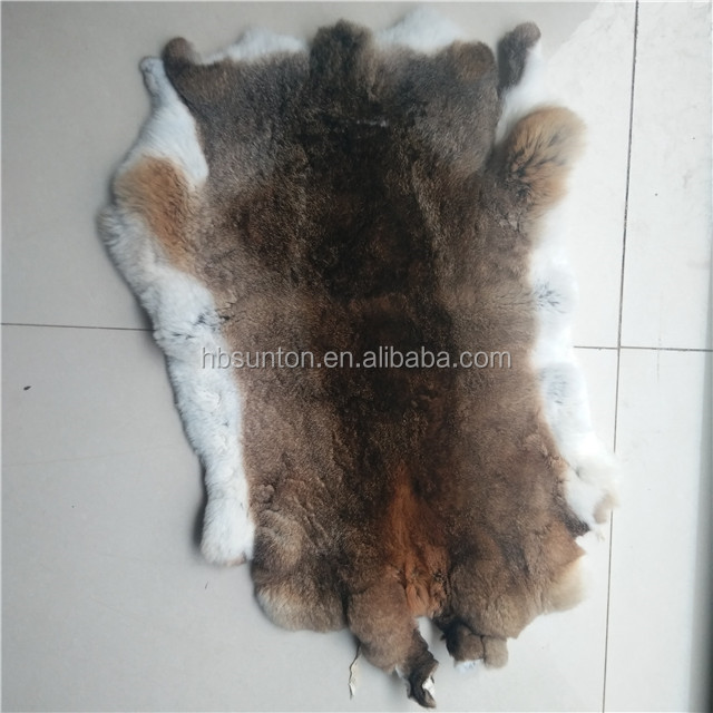 China supplier high quality natural or dyed rex rabbit fur prices
