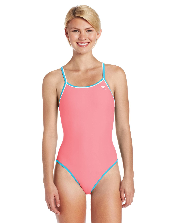 2b6004169716b Get Quotations · TYR Women s Double Binding Reversible Diamondfit Swimsuit