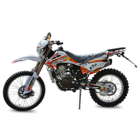 China supplier Water-cooled dirtbike 250cc motorcycle for sale
