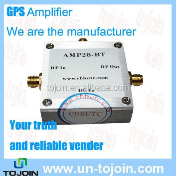 AMP28-BT 28dB Gian GPS & Galileo & GLONASS Frequency GPS Amplifier, View  widely applicated GPS amplifier, TOJOIN Product Details from Shenzhen  Tojoin