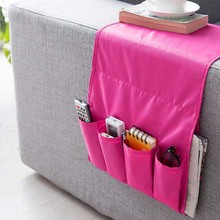 4 Pockets Home Sofa Arm Organizer,Sofa Couch Chair Armrest Organizer Fits for Phone Book Magazines TV Remote Control