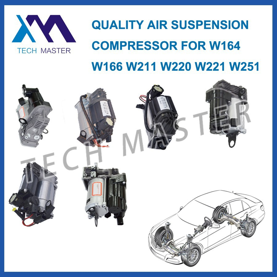 Auto parts Air Suspension For Mercedes W164 W220 W221 W211 air compressor pump 2203200104 1643201204 2213201604 2513202004