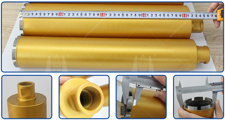diamond concrete core drill bit