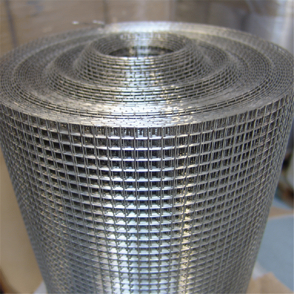 1 x 1 1.5x1.5 25mm x 25mm galvanized welded wire mesh fence roll