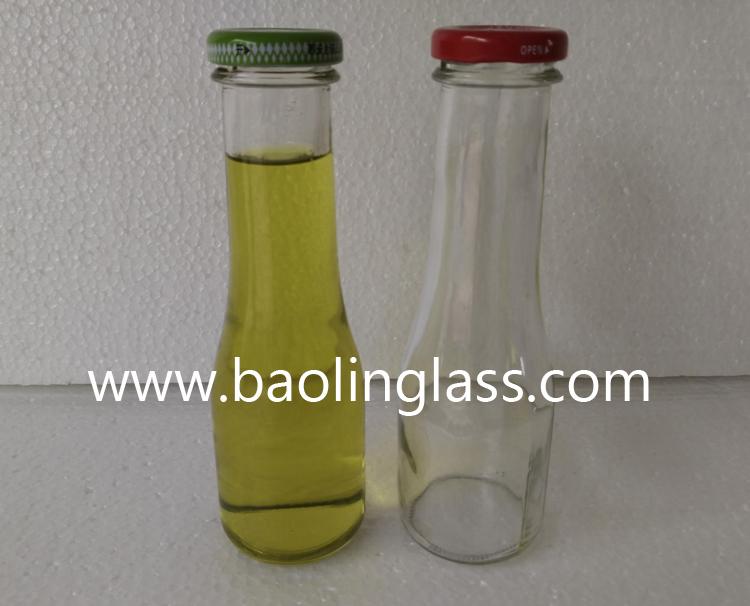 1 Liter 1000ml Swing Clamp Top Glass Bottle