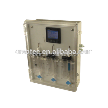 Swimming pool free chlorine controller clo2 ph temp online analysis dosing control system for Chlorine free swimming pool systems