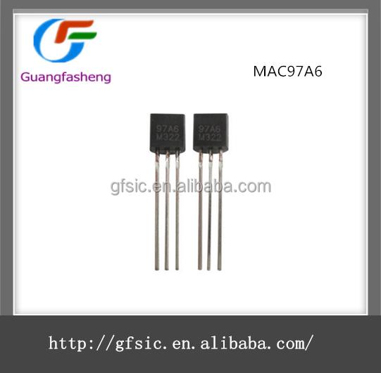 20 PCS MAC97A6 97A6 Traic 400V 0.6A TO-92 TO-92 New