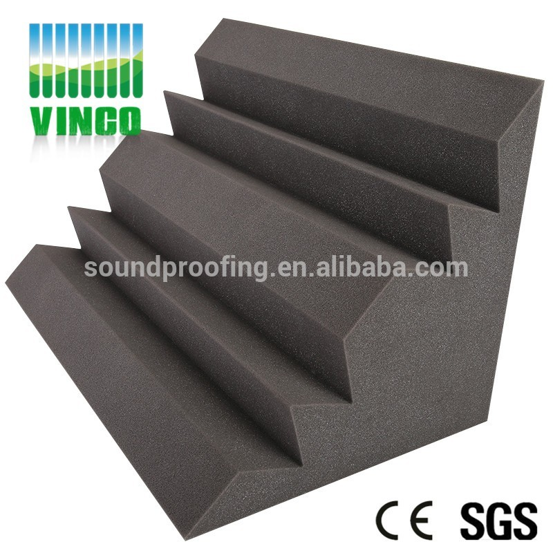 Studio soundproof polyurethane white acoustic foam singapore