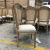 French oak wood furniture for wedding event chair rental