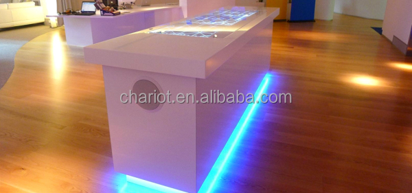 Magic ChariotTech Interactive Bar Top Counter Interactive Bar Water Effect