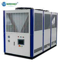 30HP High efficiency industrial air cooled screw chiller used for plastic machine cooling