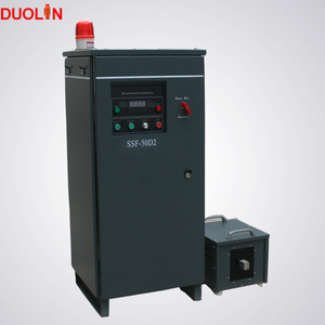 Induction radial forging machine