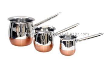 Copper bottom coffee