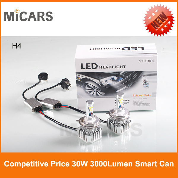 LED Wholesale Auto Car Original <strong>CREE</strong> H4 Hi/Lo led headlight