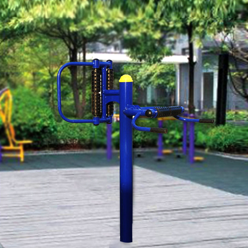 High quality waist and back massager outdoor exercise frame equipment for sale