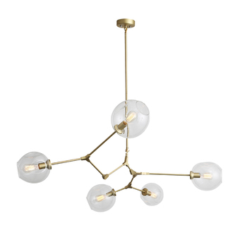 Indoor Decorative Gl Pendant Lamp Lighting Fancy Colorful Drop Light Fixtures For Living Room