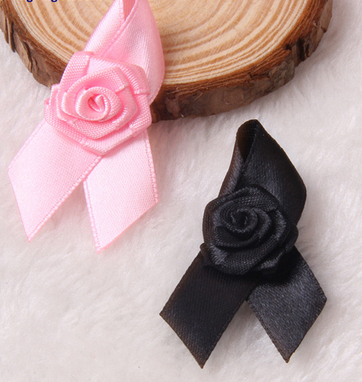 Fancy handmade ribbon flower brooches/pin
