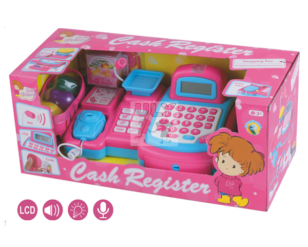 Toys For Girls Product : Girl toy cash register with microphone funny children s