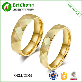 Finger Ring Without Stone Designs For Wedding Gold Ring Sample