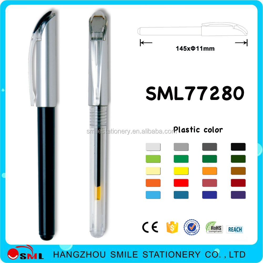 Free Ink Writing Pen Metal Roller Pen White Gel Pen For Promotion