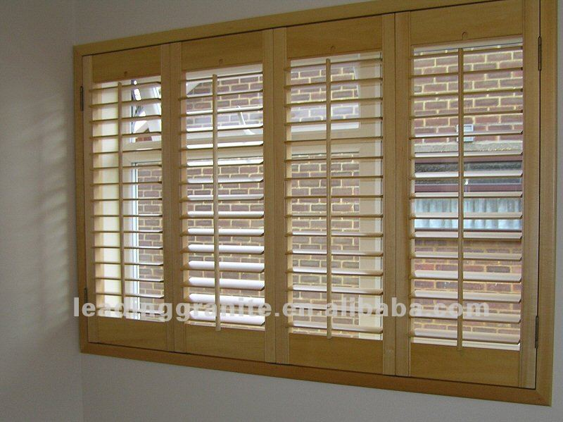 Interior Wooden Plantation Shutters Buy Plantation Shutters Product On Alibaba Com